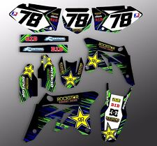 2004 2005 KXF 250 GRAPHICS KAWASAKI KX250F MOTOCROSS DIRT BIKE DECALS 21 MIL