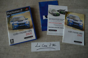 Colin Mcrae Rally 2005 complet sur Playstation 2 PS2 FR TTBE