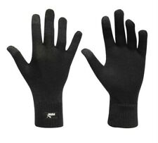 PUMA Warm Winter Knitted Gloves Mens Touch Screen Football Running Training L/XL