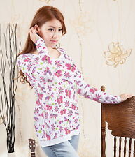 Dragonfly Butterfly Flower Women Layered Look Racerback Top Blouse b35 acr02865