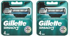 Gillette Mach3 4x2 (8 Recharges)