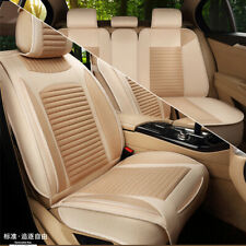 Breathable Linen Seat Cover Full Surrounded Cushion Mat For Car SUV High Quality