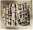 """LOUISE NEVELSON At Pace Columbus (Gold) SIGNED 24.25"""" x 26"""" Foil Print 1977"""