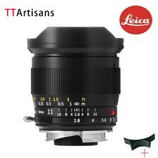TTArtisans 11mm F2.8 Fisheye Full Fame Lens for Leica M Mount Camera M240 M3 M6