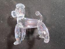 Swarovski  Crystal  Poodle  -  Dog  -  Beautiful  -  Retired  -  With Box