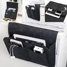Прикроватный контейнер для хранения висячий мешок войлок диван карман органайзер книга держатель для дома