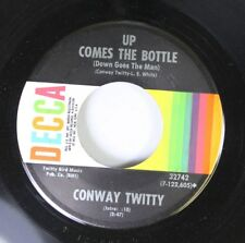 Country 45 Conway Twitty - Up Comes The Bottle (Down Goes The Man) / Fifteen 1