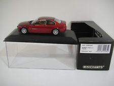 --1/43 MINICHAMPS. BMW 318 Ci. 1999 Sienna Red.