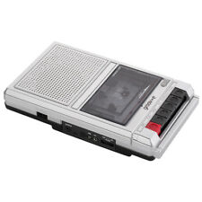 Groov-e GVPS550SR Shoebox Cassette Player and Recorder Vintage Retro Series