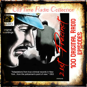 21st precinct -100 Original Radio police/crime/detective episodes - shows 1950's