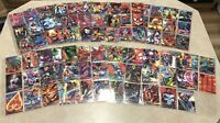 1995 Flair Marvel Annual COMPLETE Base, Holo Duo and Power-blast & Chromium Sets