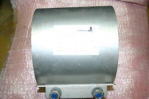 Reparaturschelle Edelstahl Rohrdurchm.180-190 mm Baulänge 200mm Dichtschelle
