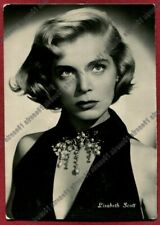 LIZABETH SCOTT 05 ATTRICE ACTRESS ACTRICE CINEMA MOVIE Postcard REAL PHOTO