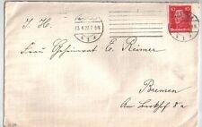 Deutsches Reich Brief mit Nr. 390 vom 23.04.1927 von München nach Bremen