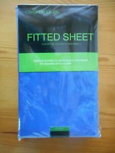 DOUBLE FITTED SHEET by TRUE HOME CO-ORDINATES ~ NEW~ 137cm x 190cm ~ easy care