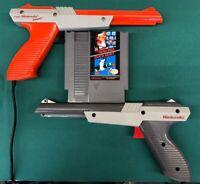 Nintendo NES Mario Duck Hunt Game Gun Bundle *Orange or Gray* Free Shipping