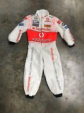 Baby Romper Tuta /& Bavaglino 09 Formula One 1 McLaren F1 Team pulsante NUOVO età 6-9 LAV