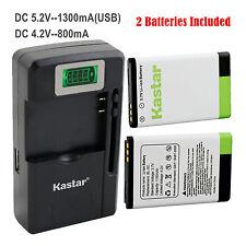 Kastar BL-5C Battery Charger for NOKIA E50 E60 N70 N71 N72 N91 N91 8GB N-Gage