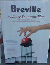 New Breville JE98XL Juice Fountain Plus 850-Watt Juice Extractor