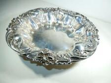 Antique Sterling Silver Bowl Lily pattern Meriden Britannia Co 9 inch  #511