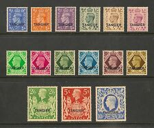Morocco Agencies - Tangiers #531-545 (SG #261-275) VF MNH 1949 2pi to 10sh KGVI