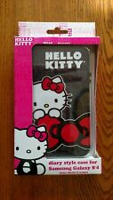 Hello Kitty diary style case for Samsung Galaxy S'4 RARE NIP BLACK