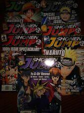 Lot/7 Issues Shonen Jump/US-Manga/Comic/Anime-2011-3,4,5,6,8,9,10-All EUC