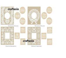 Anna Griffin® Mix & Match Christmas Frames Emboss Folders Brand New!