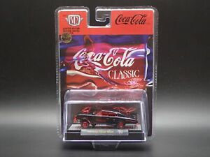 1966 DODGE CHARGER GASSER COCA COLA 2021 M2 MACHINES RED CHASE 1/750 A11 21-17