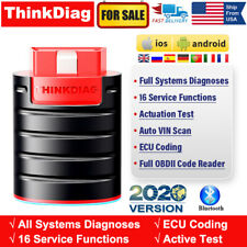 THINKDIAG Bluetooth OBD2 Scanner Auto Code Reader Car OBDII Diagnostic Interface