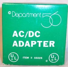 Department 56 Light Accessory AC/DC Adapter (#56.55026)