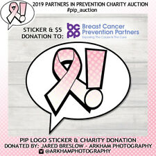 PIP logo sticker & $5 donation to BCCP! *Charity auction* #pip_auction