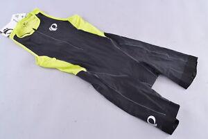 Pearl Izumi Elite Pursuit Tri Suit Triathlon Sleeveless Men's Medium Black Lime