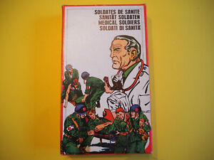 Atlantic 112, 1/72, Medizinisches Personal / Medic personal, 28 Teile, OVP