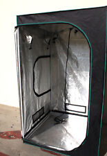 """48"""" x 48"""" Hydroponic Indoor Mylar Reflective Grow Tent Room w/Ventilating output"""