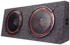 New Pyramid PP12 Dual 12'' 300 Watt 4-Way Stereo Hatchback Speaker System Sub