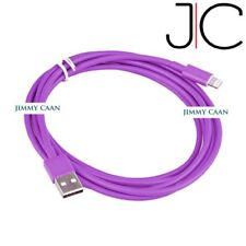20AWG 3M 3.4MM MFI Approve Quick Charge Data Cable iPhone 5/6/6 /7/8/9/X Purple