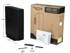 Fractal Design Node 202 Black Mini ITX compatible PC case CS5266 FD-CA-NODE-202-