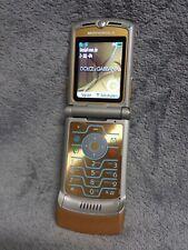 MOTOROLA RAZR V3i D&G Handy GOLD #27 D Dolce & Gabbana vintage flip mobile phone