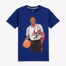 229022caeca6d1  NEW  Jordan Classic Pixel Big Kids  (Boys ) T-Shirt