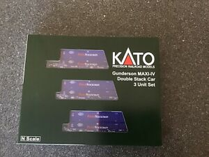 kato n scale Gunderson MAXI-IV Pacer