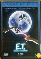 E.T. L'EXTRA-TERRESTRE (1982) di Steven Spielberg DVD EX NOLEGGIO - UNIVERSAL