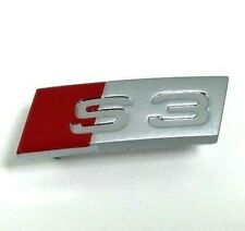 Genuine Audi S3 A3 8P steering wheel OEM badge logo emblem 8L0419685A.     S3