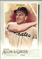 2020 Allen and Ginter #337 Ralph Kiner  Pittsburgh Pirates
