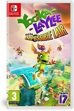 Yooka Laylee and The Impossible Lair Nintendo Switch Game New & Sealed
