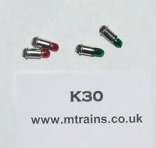 HORNBY DUBLO - NEW BULBS FOR COLOUR LIGHT SIGNALS (GGRR)