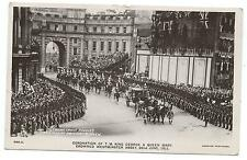 ROYALTY - KING GEORGE V. CORONATION, 1911 GERMAN PRINCE'S CARRIAGE R.P. Postcard