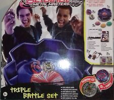 BEYBLADE-METAL MASTERS-CIRCUIT + 2 TOUPIES- NEUF SCELLE !!!