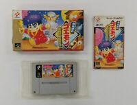 GANBARE GOEMON YUKIHIME  With Box   Nintendo Super Famicom  SFC SNES Japan USED