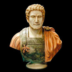 Solid Marble Bust of Septimius Severus #4243